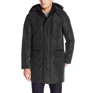 Cole Haan Signature Insulated Hooded Car Coat